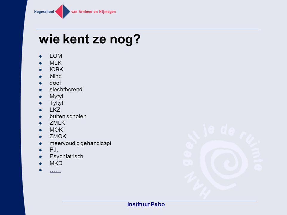 Pabo Groenewoud Nijmegen filmpje polygoonjournaal uit 1948: die anderen visie op zorgleerlingen http://geschiedenis.vpro.nl/themasites/mediaplayer/in dex.jsp?media=30057165&refernr=30036581&port alnr=4158511&hostname=geschiedenis&mediatyp e=video&portalid=geschiedenis