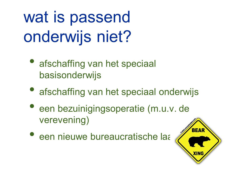 medezeggenschap geen instemming nodig aansluiting SWV Passend Onderwijs ondersteuningsplanraad (max.