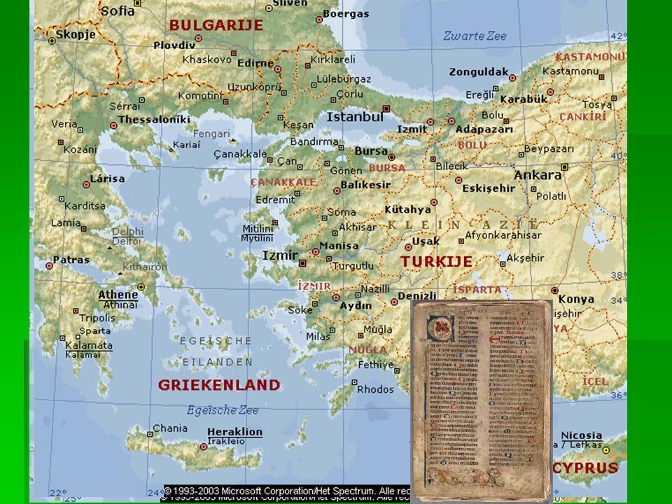 Perkament en papier  Perkament: genoemd naar Pergamum (een stad in Turkije). Gemaakt van dierenhuiden  Verdringt vanaf de late oudheid de papyrus.