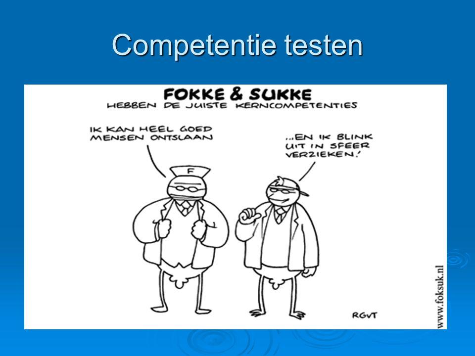 Competentie testen