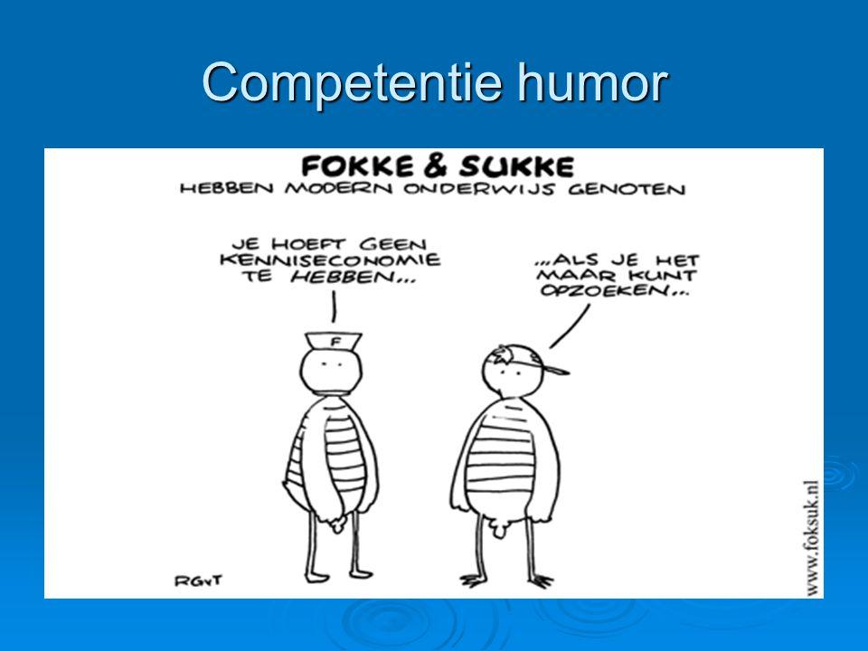 Competentie humor