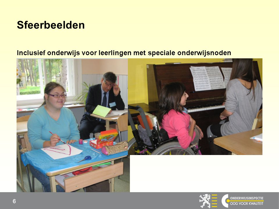Sfeerbeelden Inclusief onderwijs voor leerlingen met speciale onderwijsnoden 6