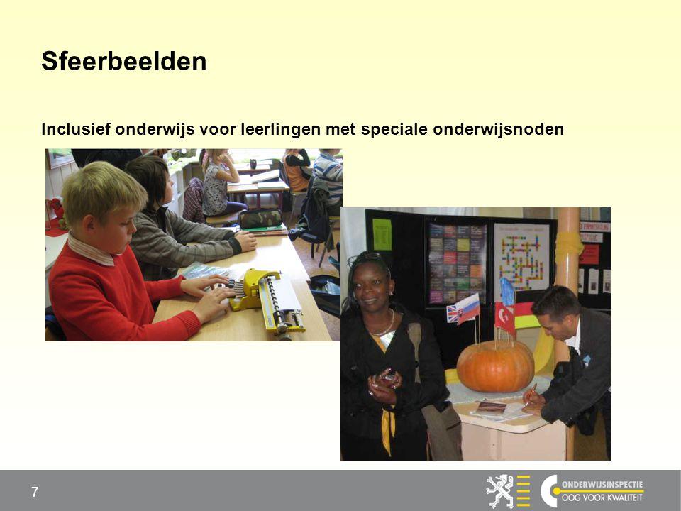 Sfeerbeelden Inclusief onderwijs voor leerlingen met speciale onderwijsnoden 7