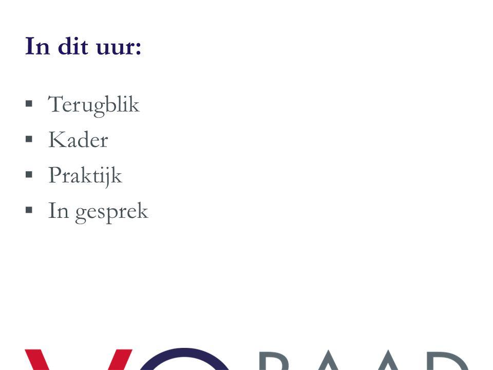 Informatie ondersteuning  Hulpmiddelen www.vo-raad.nl/dossiers/leren-verbeteren