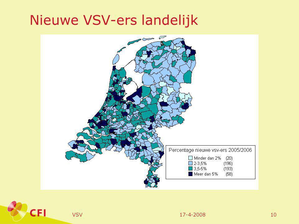 17-4-2008VSV10 Nieuwe VSV-ers landelijk