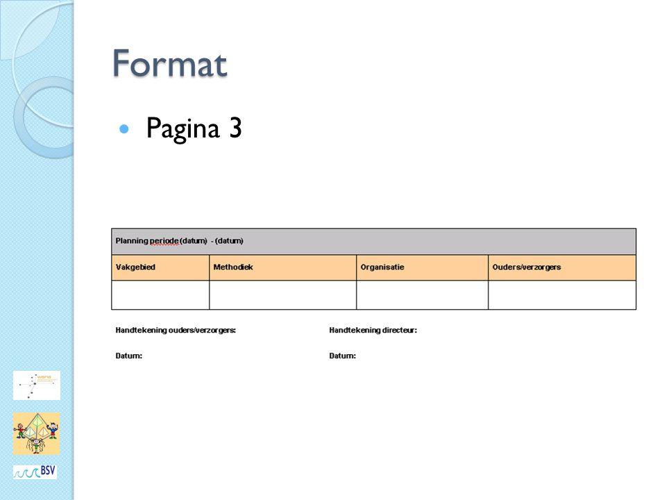 Format Pagina 3