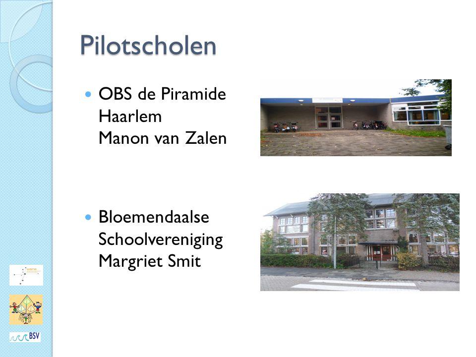 Pilotscholen OBS de Piramide Haarlem Manon van Zalen Bloemendaalse Schoolvereniging Margriet Smit
