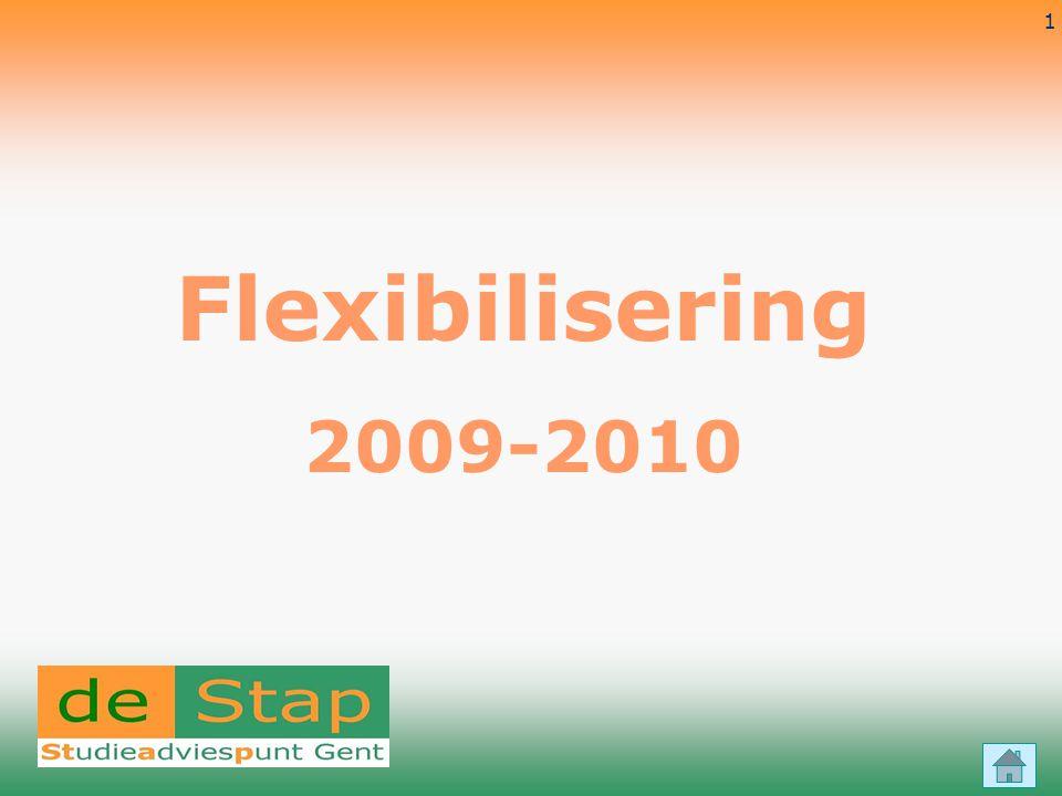 18-7-2014 1 Flexibilisering 2009-2010