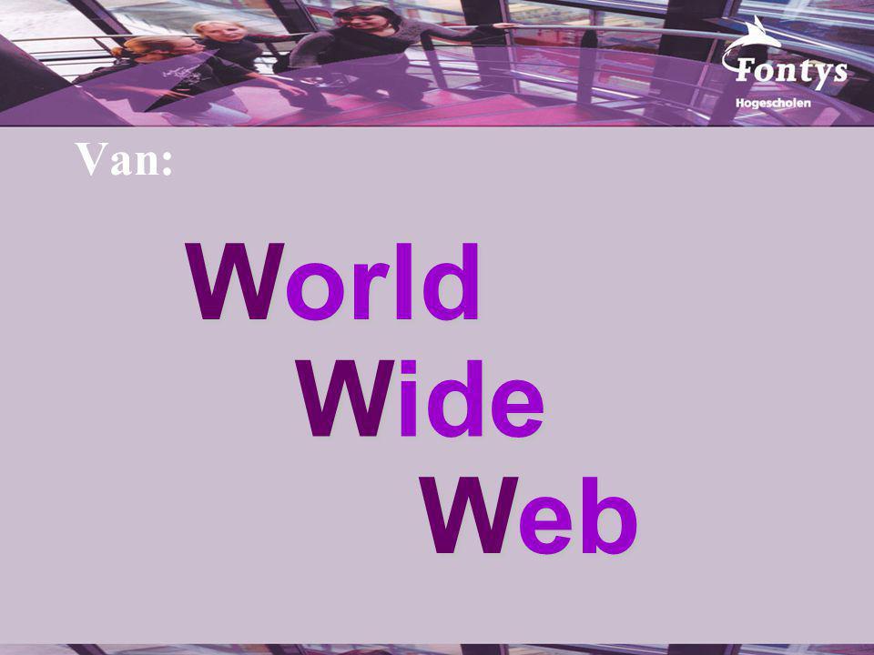 Wiki Weblog Web Naar: