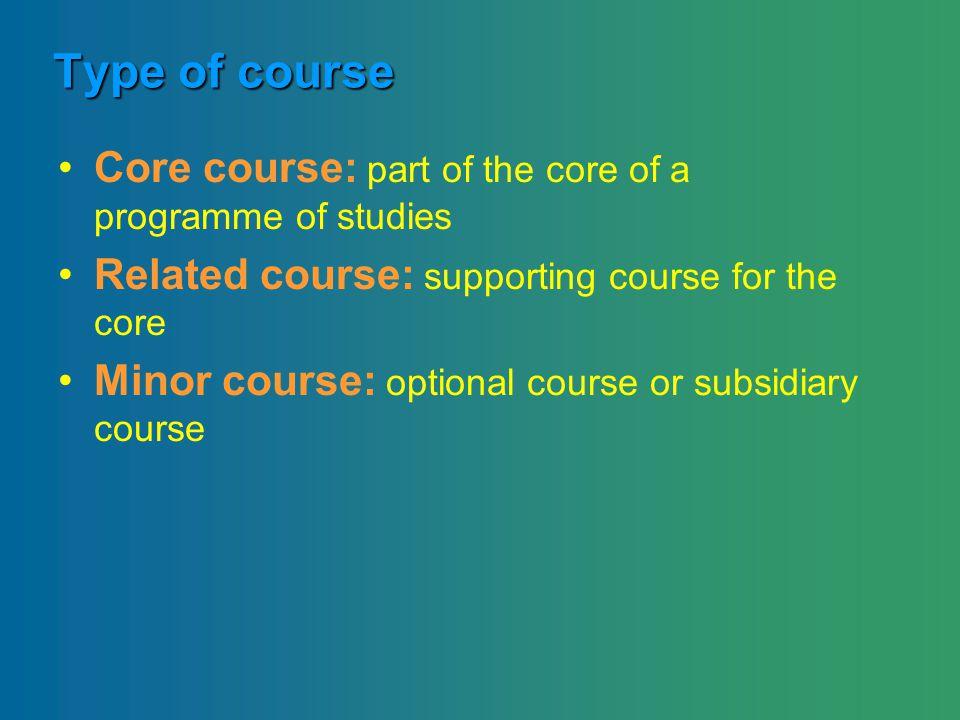 Taak 2 Adviezen, richtlijnen of criteria bij de invulling van de rubrieken op de ECTS-fiche i.f.v.