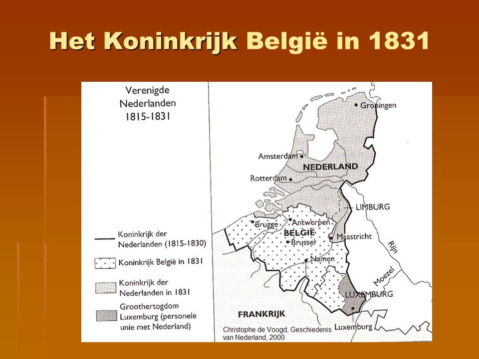Het Koninkrijk Het Koninkrijk België in 1831