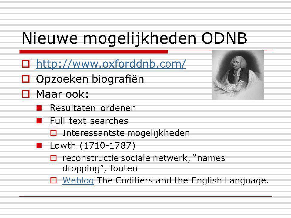 OED en ODNB online  Tekortkomingen boven water halen 19 de -eeuwse producten De OED grotendeels het werk van één man  Bijdragen aan verbetering van het product  OED nieuwsbrief: Appeals list Balderdash and Piffle.