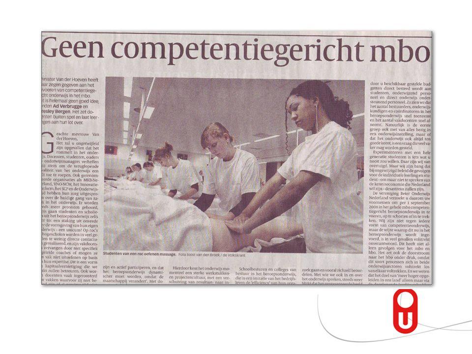Voorlopige uitkomsten onderzoek van Nuland met intrinsieke motivationele informatie Vanwege de hoge extrinsieke oriëntatie van de deelnemers (VMBO lee