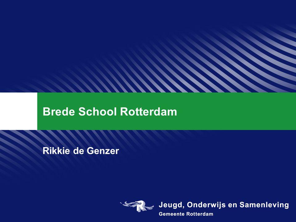 Brede School Rotterdam Rikkie de Genzer