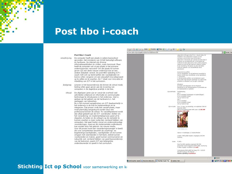 Post hbo i-coach