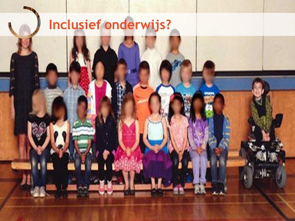 Inclusief onderwijs?
