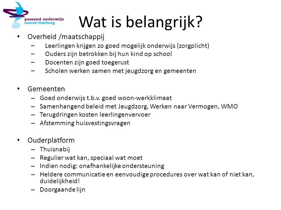 Besturen In Noord Limburg is kwalitatief goed primair onderwijs beschikbaar voor alle kinderen.