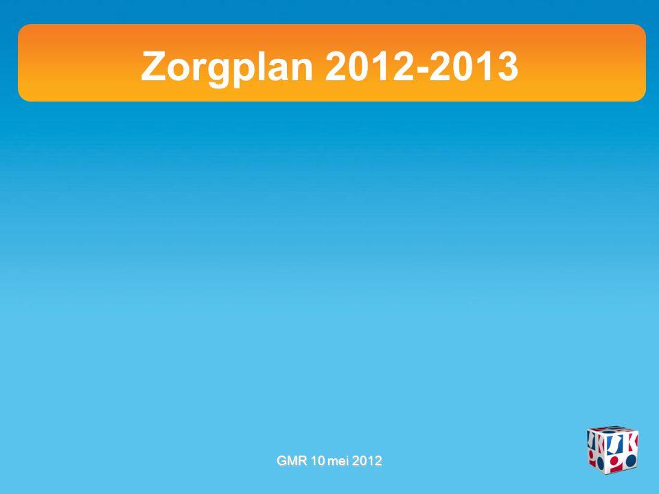 Zorgplan 2012-2013 l