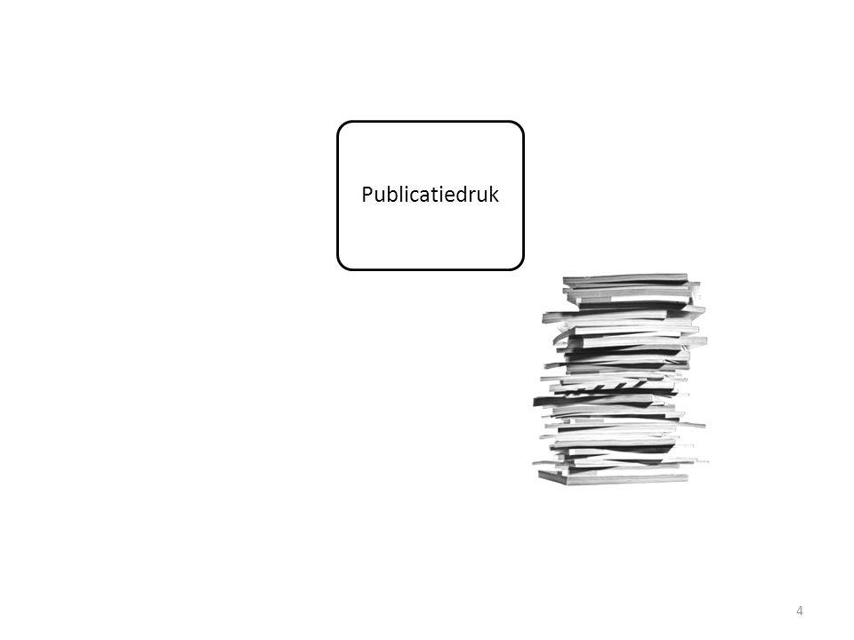 15 Scheefgetrokken verhouding VASTE tov TIJDELIJKE posities in het academische personeelsbestand Erosie van de EERSTE GELDSTROOM en verfondsing van middelen Tweeledige diagnose