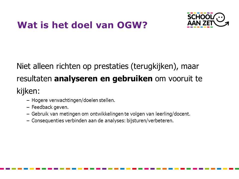 Wat is het doel van OGW.