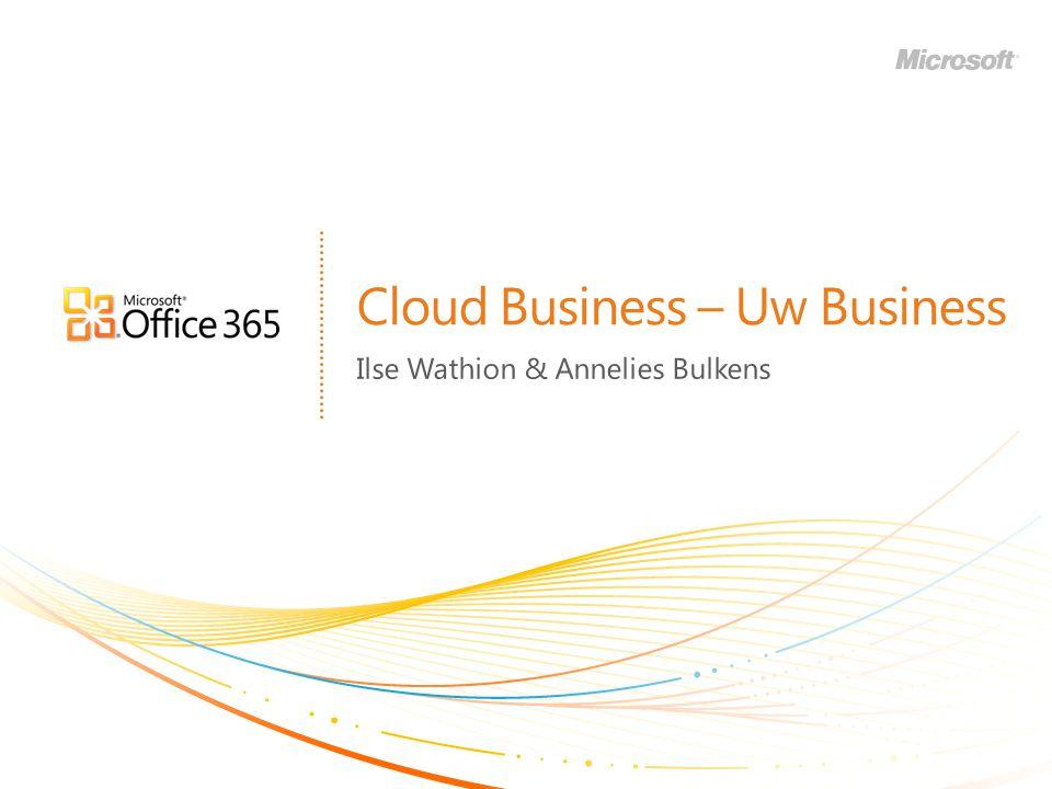 | Copyright© 2010 Microsoft Corporation Inhoud Basisprincipes Microsoft Office 365 in het kort Wat betekent Office 365 voor partners Referenties