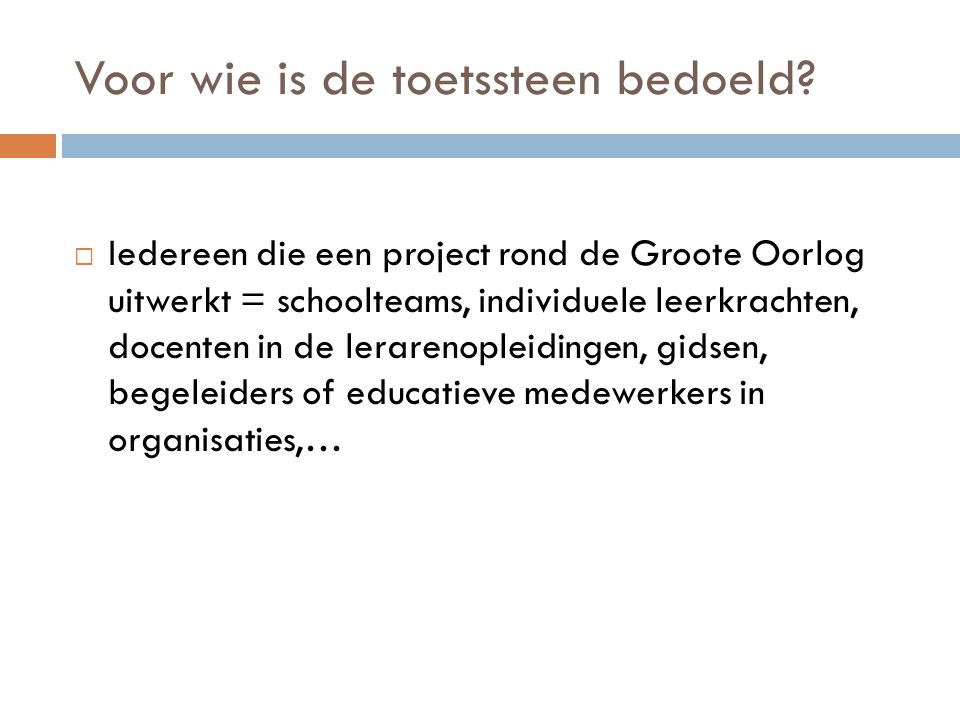 Project lager onderwijs  Christmas Truce project / Phillippe Servais  http://www.youtube.c om/watch?v=cIZTAGP pNac http://www.youtube.c om/watch?v=cIZTAGP pNac