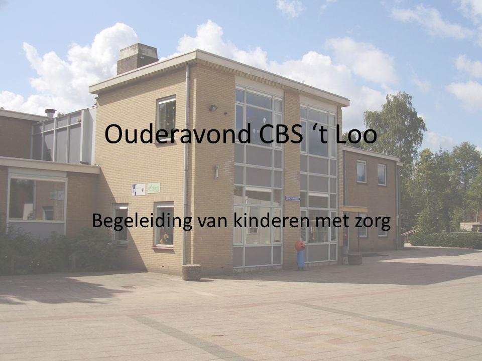 Ouderavond CBS 't Loo Begeleiding van kinderen met zorg