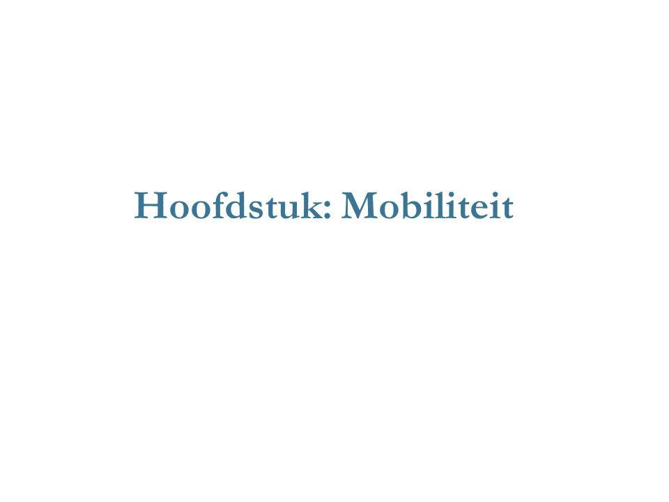 Hoofdstuk: Mobiliteit