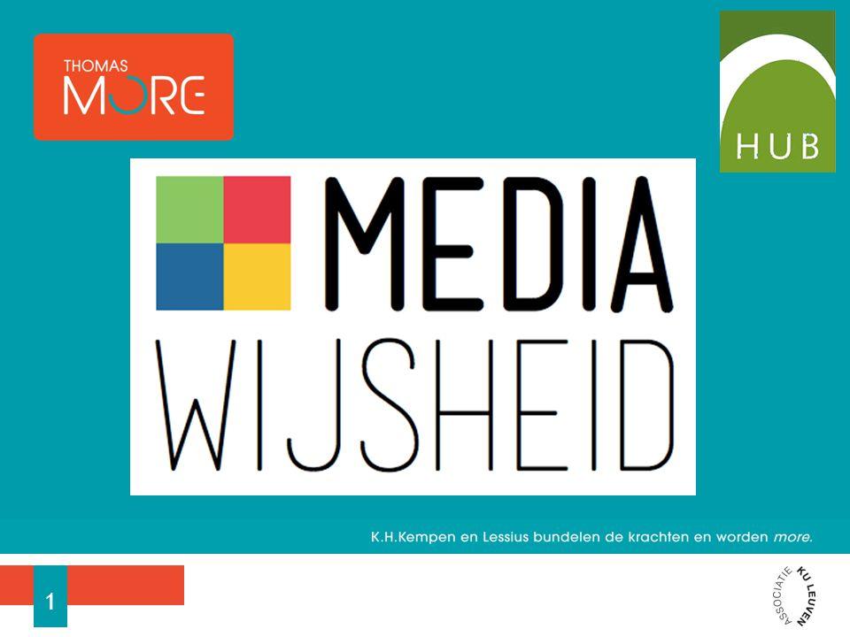 Projectoproep − Partners − Doelstellingen Wat is mediawijsheid.