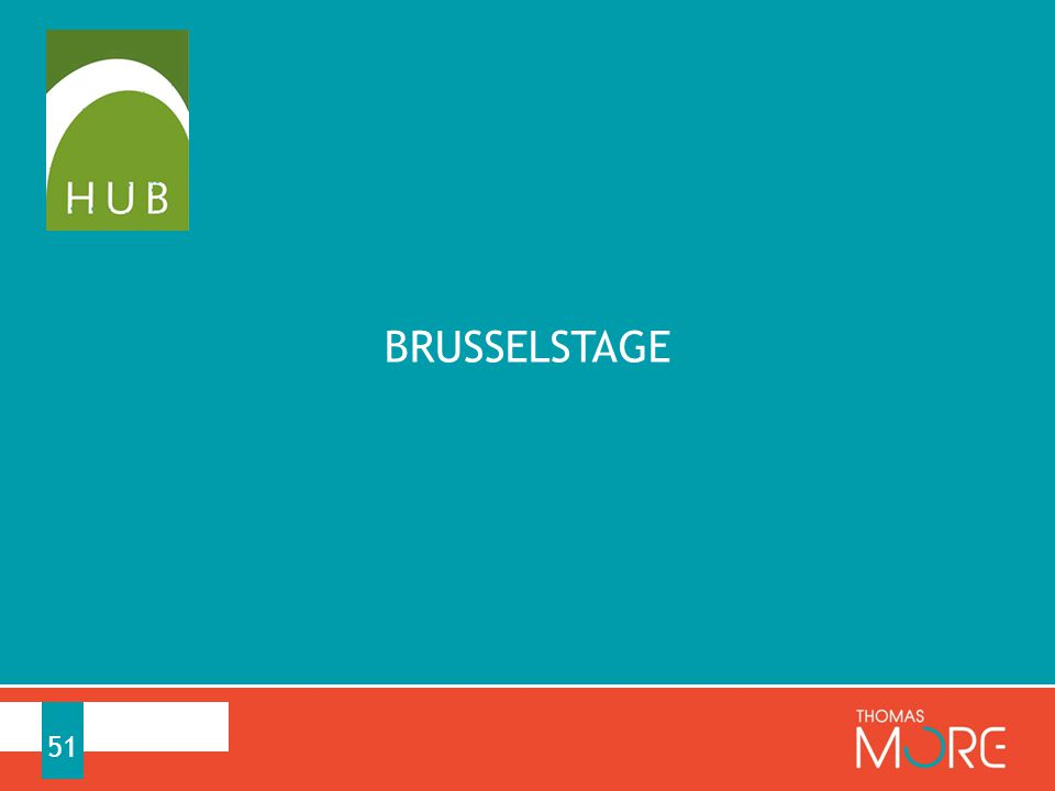 51 BRUSSELSTAGE