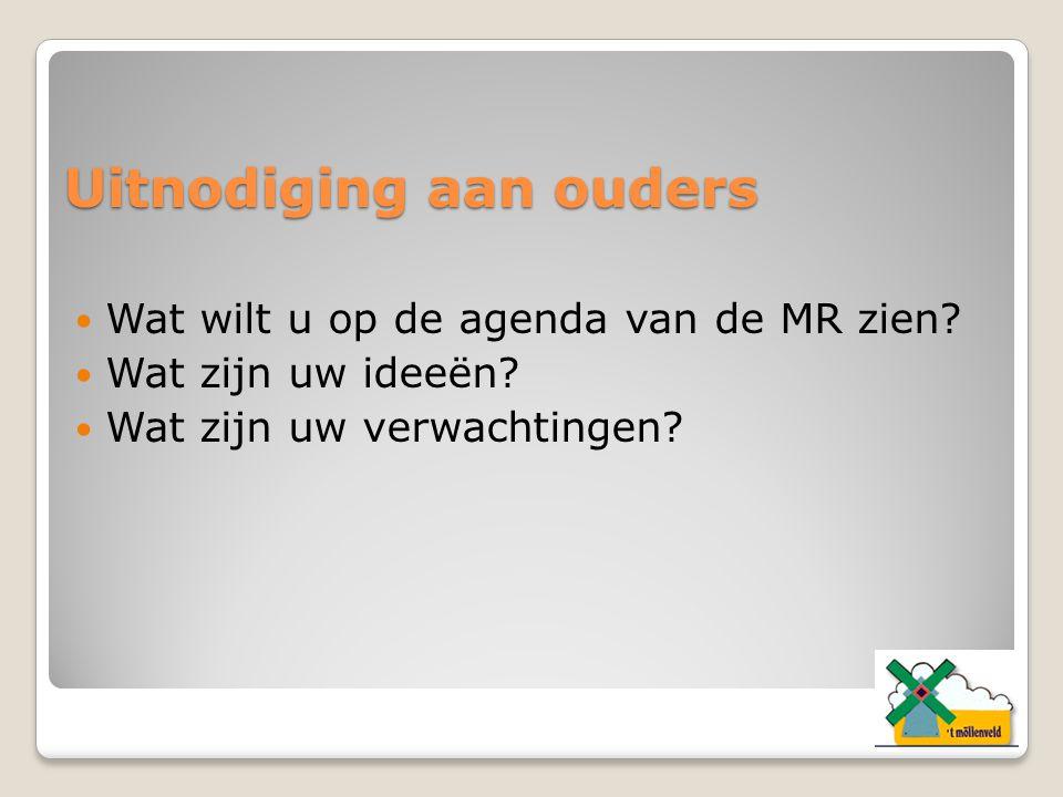 Contact met de MR In de wandelgangen Schriftelijk Via de mail: a.richters1@kpnmail.nl Via www.accentscholengroep.nl