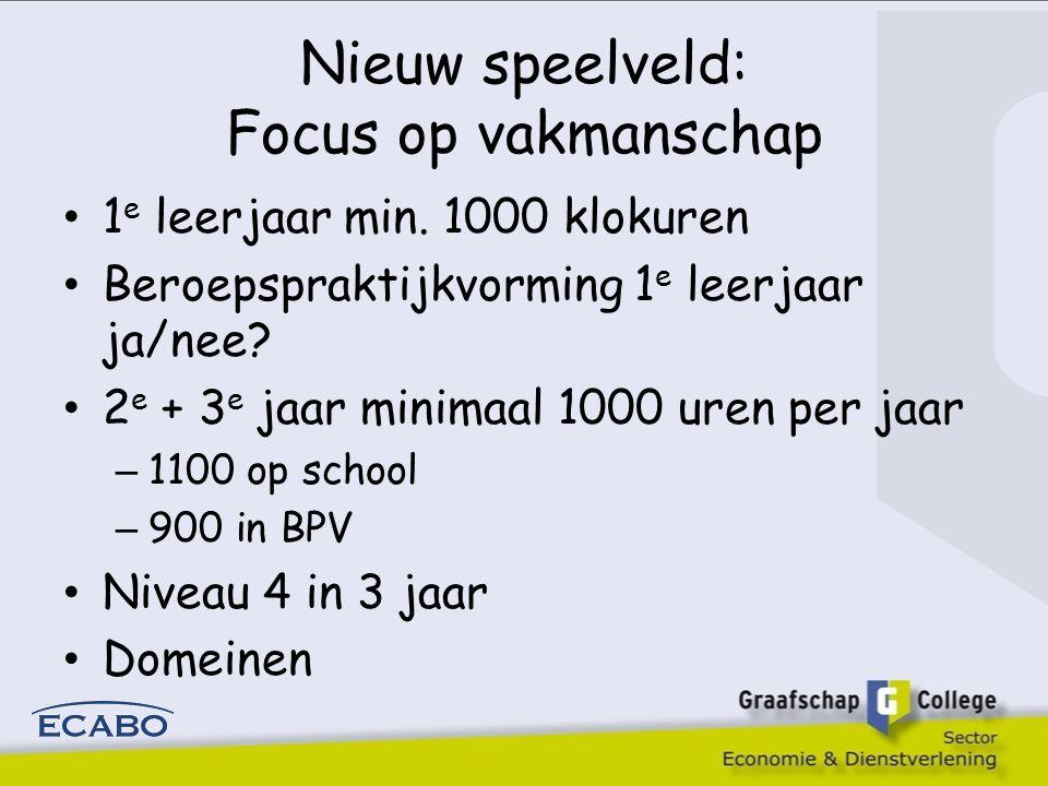 Stellingen 2 6.Om optimaal gebruik te kunnen maken van schaarse faciliteiten bepaalt het schoolbelang de lengte en de omvang van de bpv-periodes 7.Bedrijven/ instellingen zijn in staat en bereid een zinvolle invulling te geven aan bpv in het eerste studiejaar (en het tweede en derde) 8.De leerlijnen voor Nederlands, rekenen, loopbaan/ burgerschap dienen minimaal in het eerste studiejaar voor alle opleidingen hetzelfde te zijn