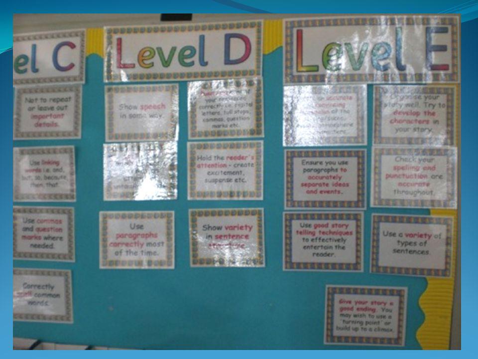 De scholen gebruiken nauwelijks methoden en maken veel zelf. De levels – niveaus – stelt de school zelf vast en daar wordt op getoetst
