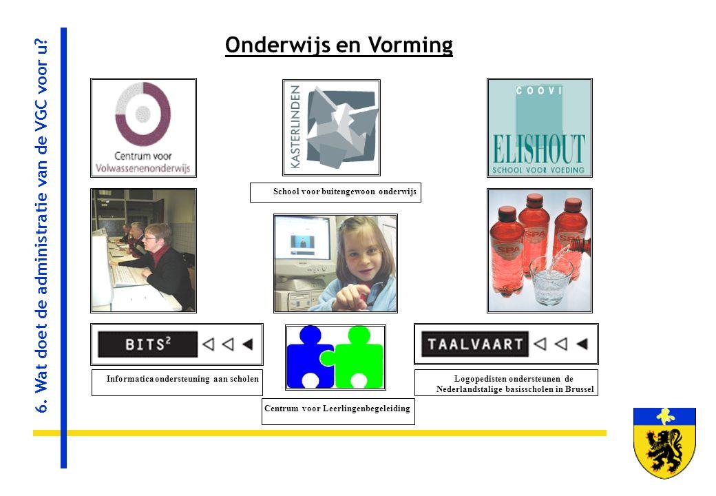 Informatica-ondersteuning aan scholen Logopedisten ondersteunen de Nederlandstalige basisscholen in Brussel Centrum voor Leerlingenbegeleiding School