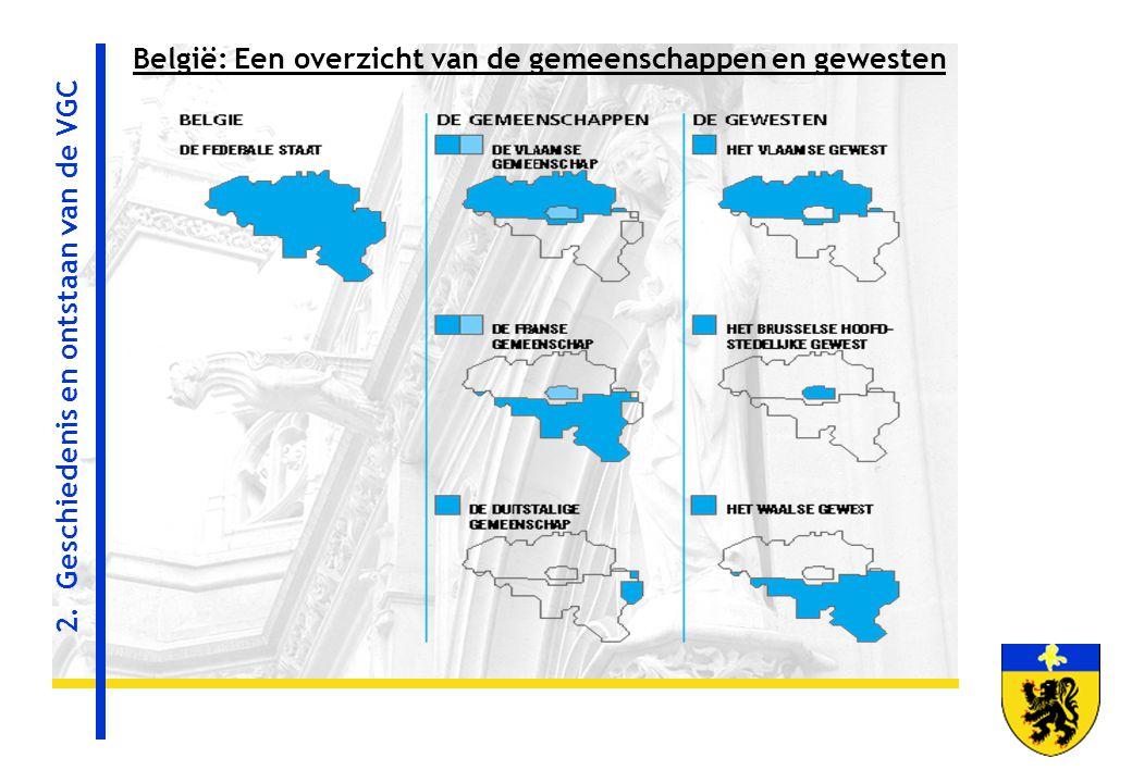 België: Een overzicht van de gemeenschappen en gewesten 2. Geschiedenis en ontstaan van de VGC