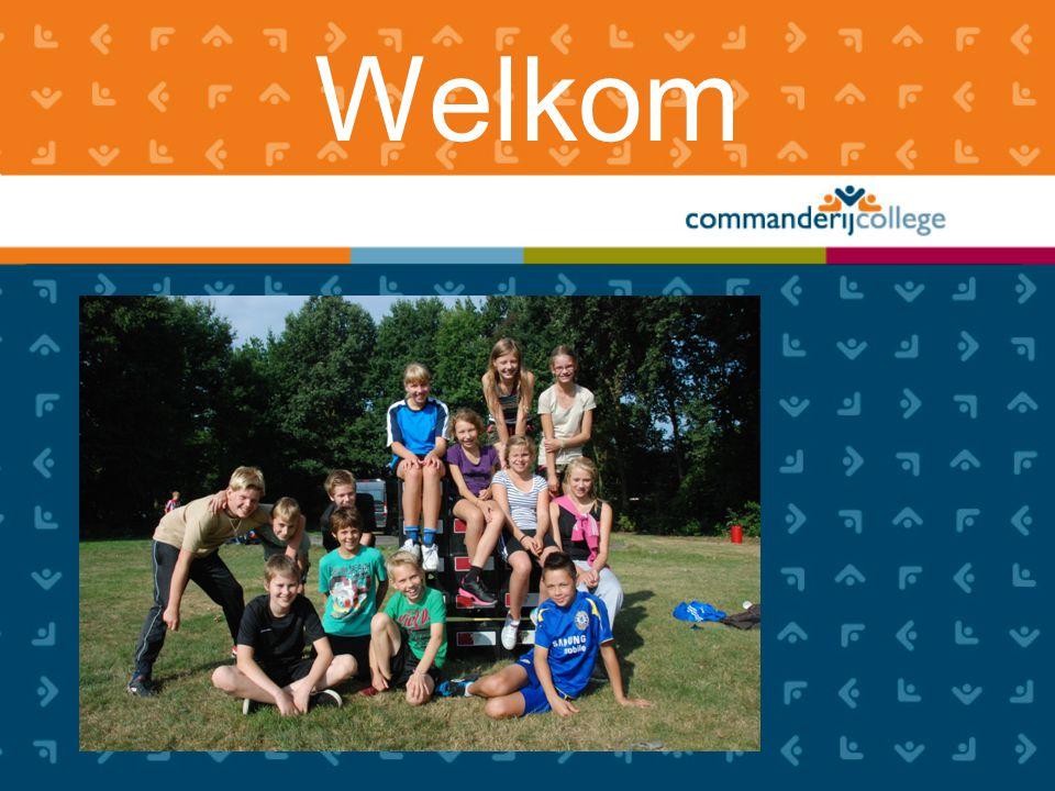 Programma voor de pauze: www.commanderijcollege.nl Voorstelronde Toelichting op brugklas Ouderraad Filmpje!