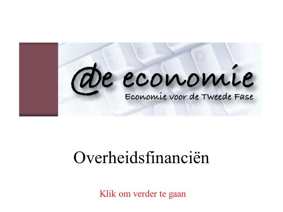 Overheidsfinanciën Klik om verder te gaan