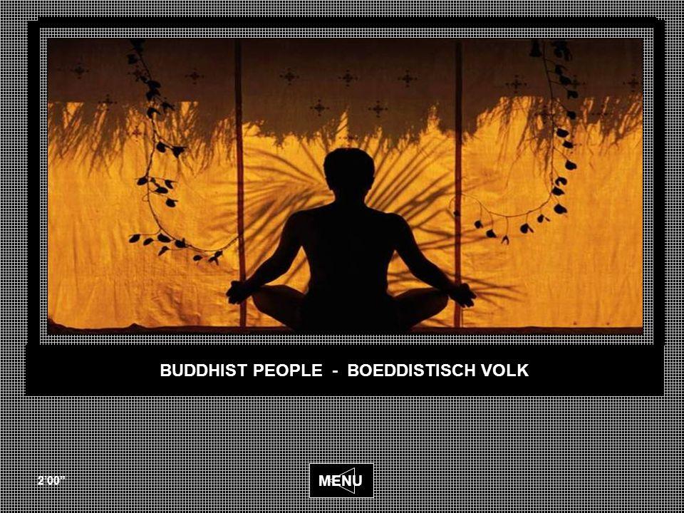 BUDDHIST PEOPLE - BOEDDISTISCH VOLK 2'00 MENU