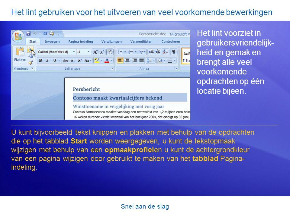 Snel aan de slag Oude bestanden converteren Kunnen oudere documenten naar de nieuwe bestandsindeling worden geconverteerd.