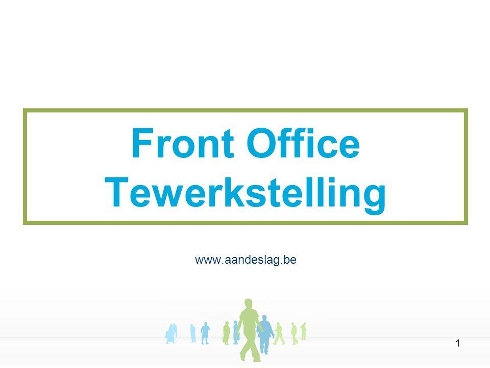 1 Front Office Tewerkstelling www.aandeslag.be