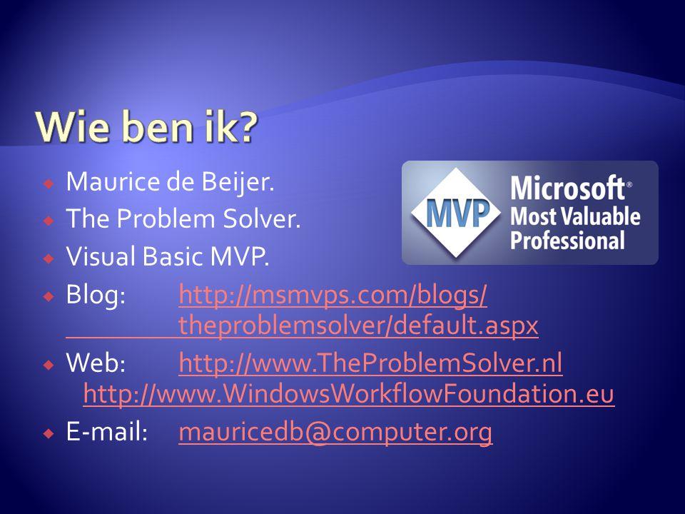  Via de designer of met XML  Via XML geeft meer mogelijkheden.