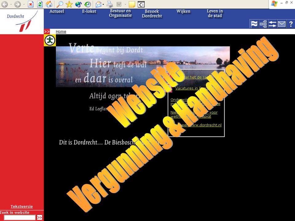 V&H 2005 Globaal gegevensmodel - vervolg -