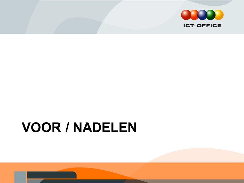 VOOR / NADELEN