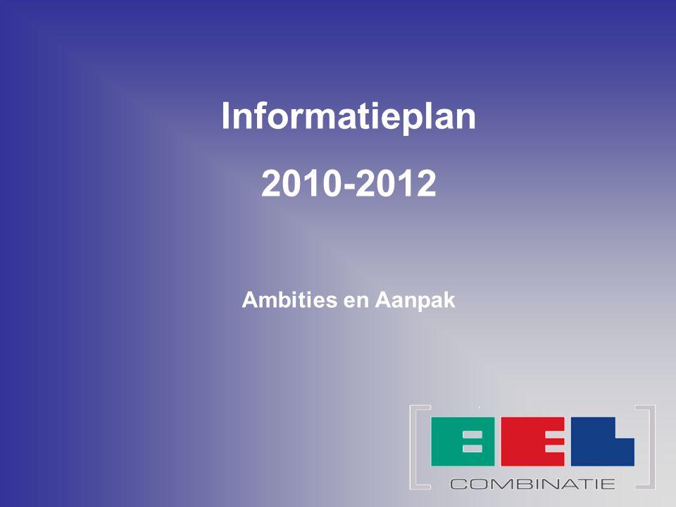 Informatieplan 2010-2012 Ambities en Aanpak
