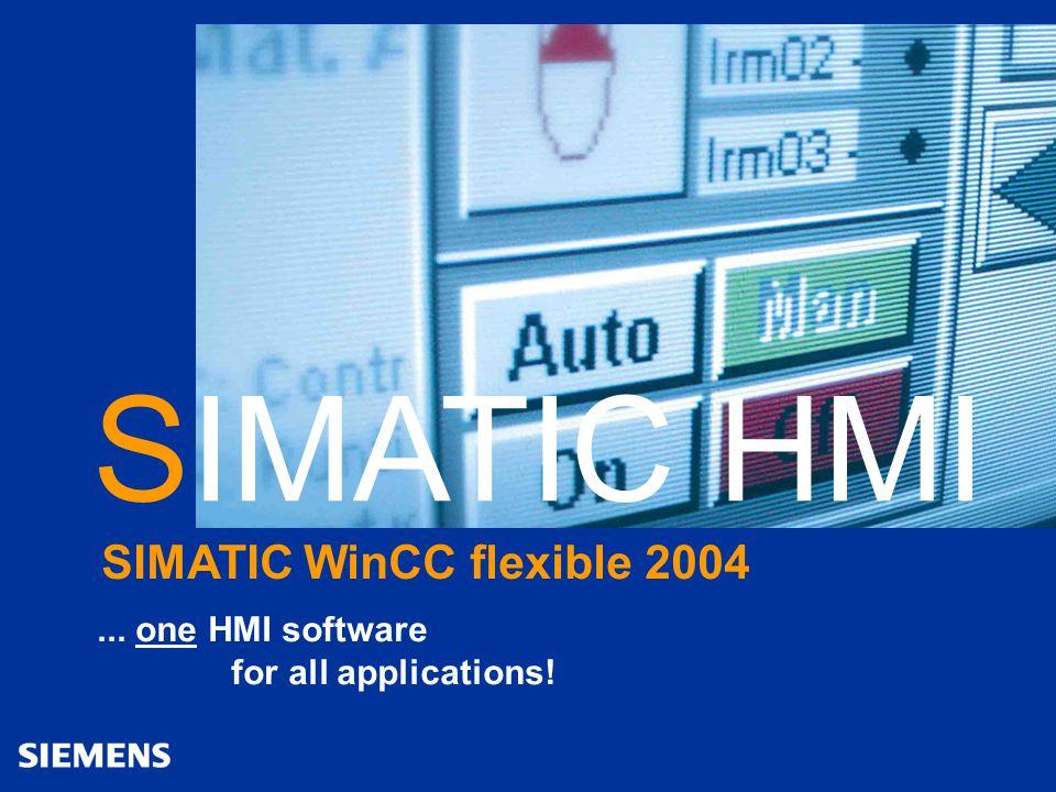 Automation and Drives SIMATIC HMI Human Machine Interface 12WinCC flexible april 2004 Power Packs Meer kracht nodig?...