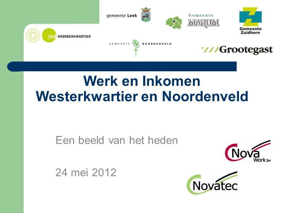 Werk en Inkomen Westerkwartier en Noordenveld Een beeld van het heden 24 mei 2012