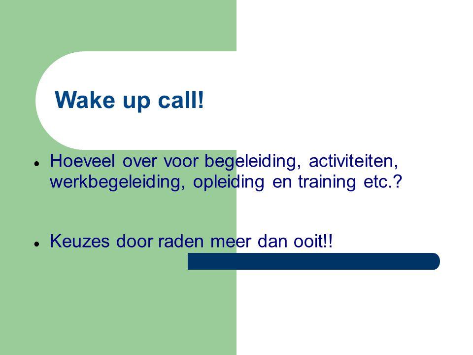Wake up call.