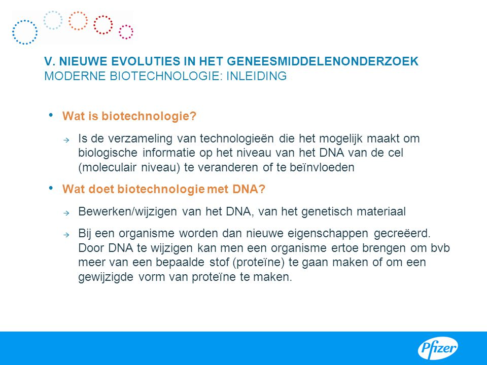 Wat is biotechnologie.