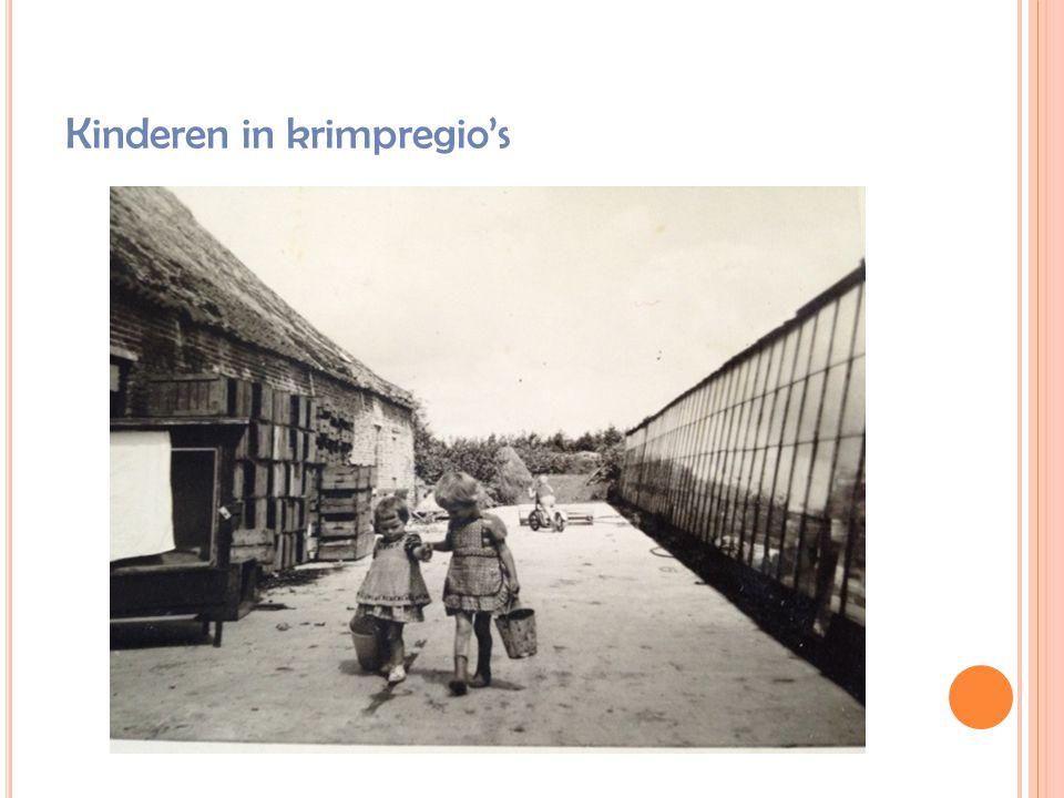 Kinderen in krimpregio's