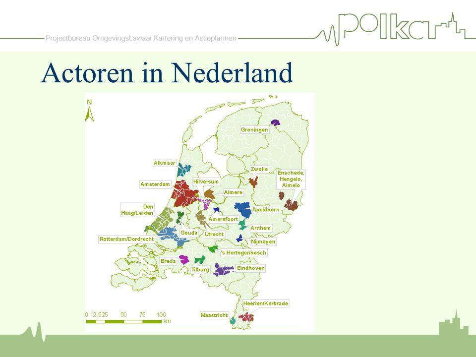 Actoren in Nederland